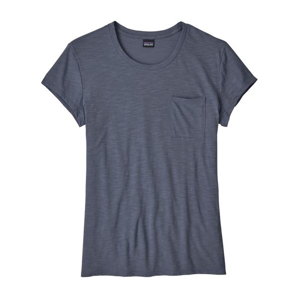 Patagonia Women's Mainstay Tee Dolomite Blue