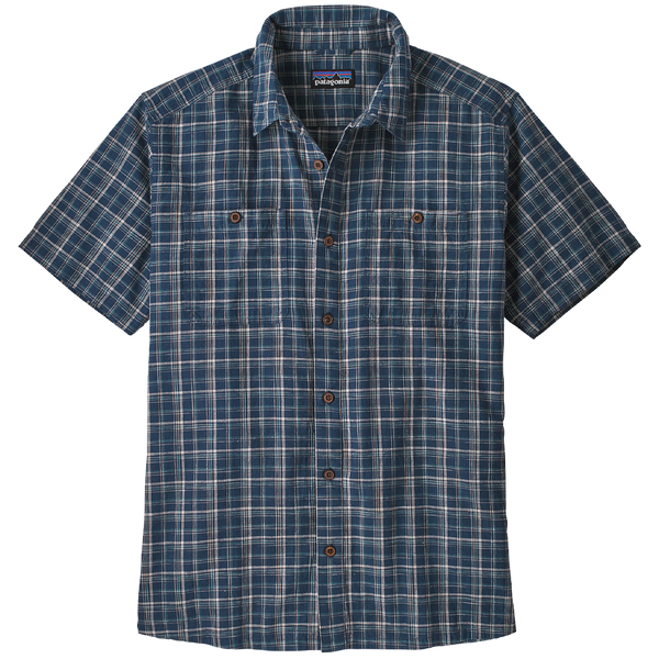Patagonia Men's Back Step Shirt Founder: Stone Blue