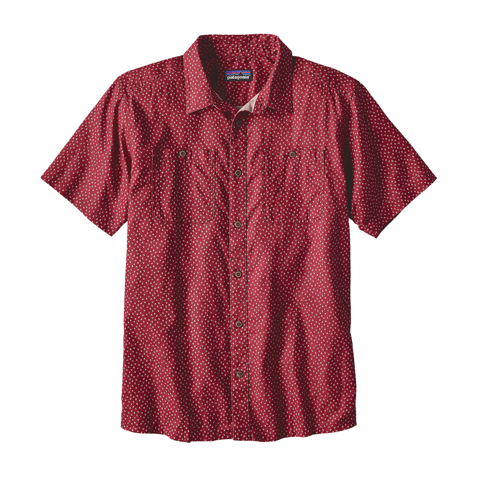 Patagonia Men's Back Step Shirt Adzuki Red