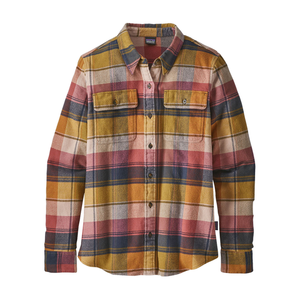 Patagonia Women's Fjord Flannel Kiln Pink
