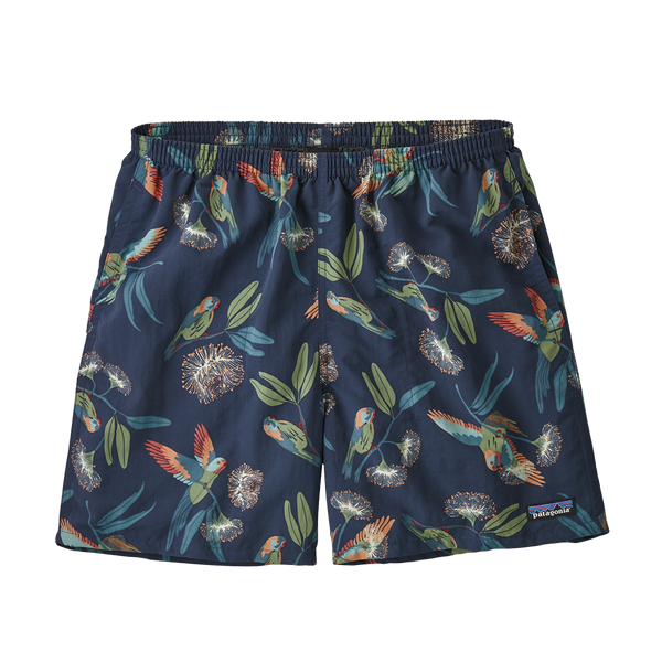 "Patagonia Men's Baggies Shorts 5"" Parrots: Stone Blue"