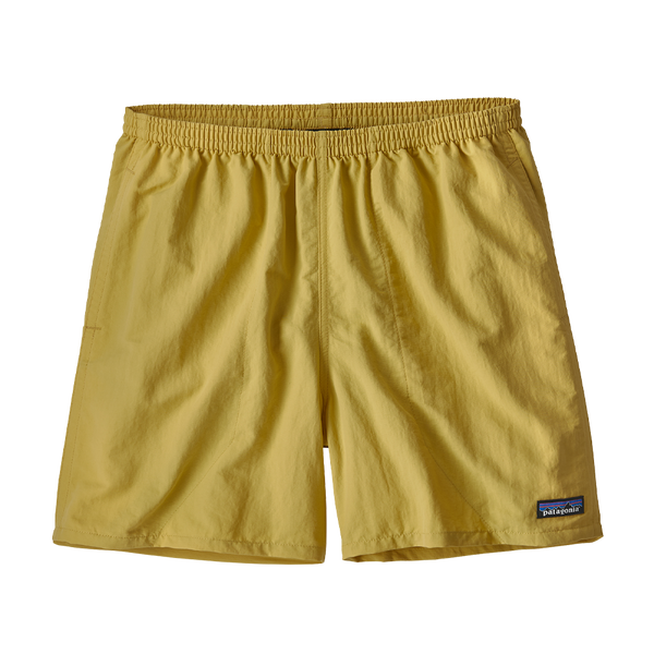 "Patagonia Men's Baggies Shorts 5"" Surfboard Yellow"