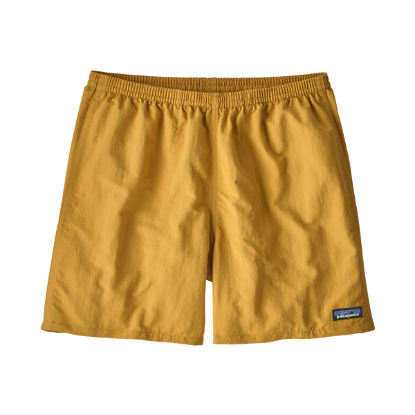"Patagonia Men's Baggies Long 5"" Short Yurt Yellow"
