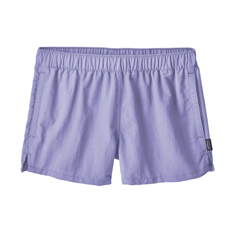 "Patagonia Women's Barely Baggies Shorts 2½"" Light Violet Blue"