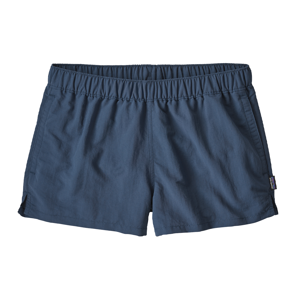 "Patagonia Women's Barely Baggies Shorts 2½"" Stone Blue"