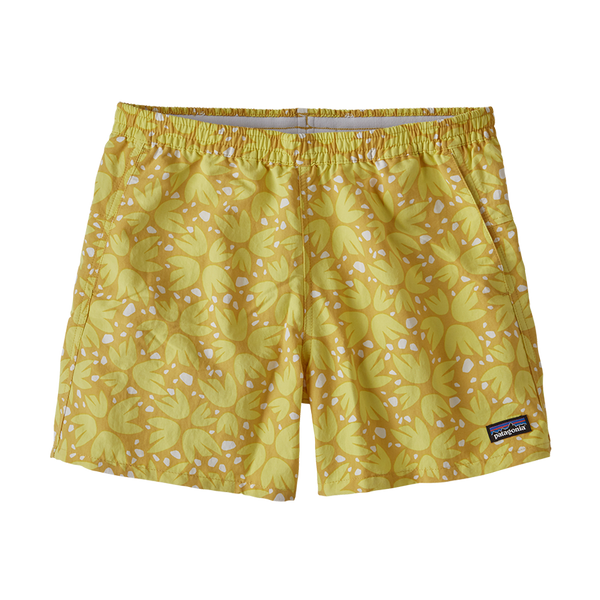 Patagonia Baggies Shorts Surfboard Yellow