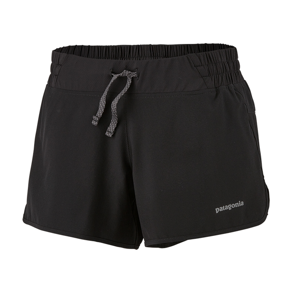 "Patagonia Women's Nine Trails 4"" Shorts Black"