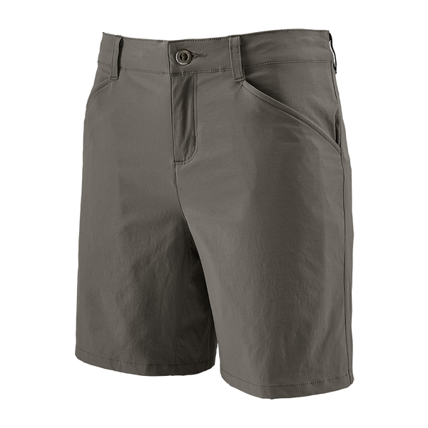 "Patagonia Women's Quandary Shorts 7"" Forge Grey"