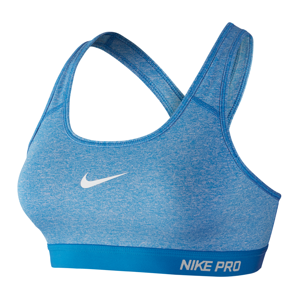 Nike Women's Pro Classic Padded Bra Light Photo Blue