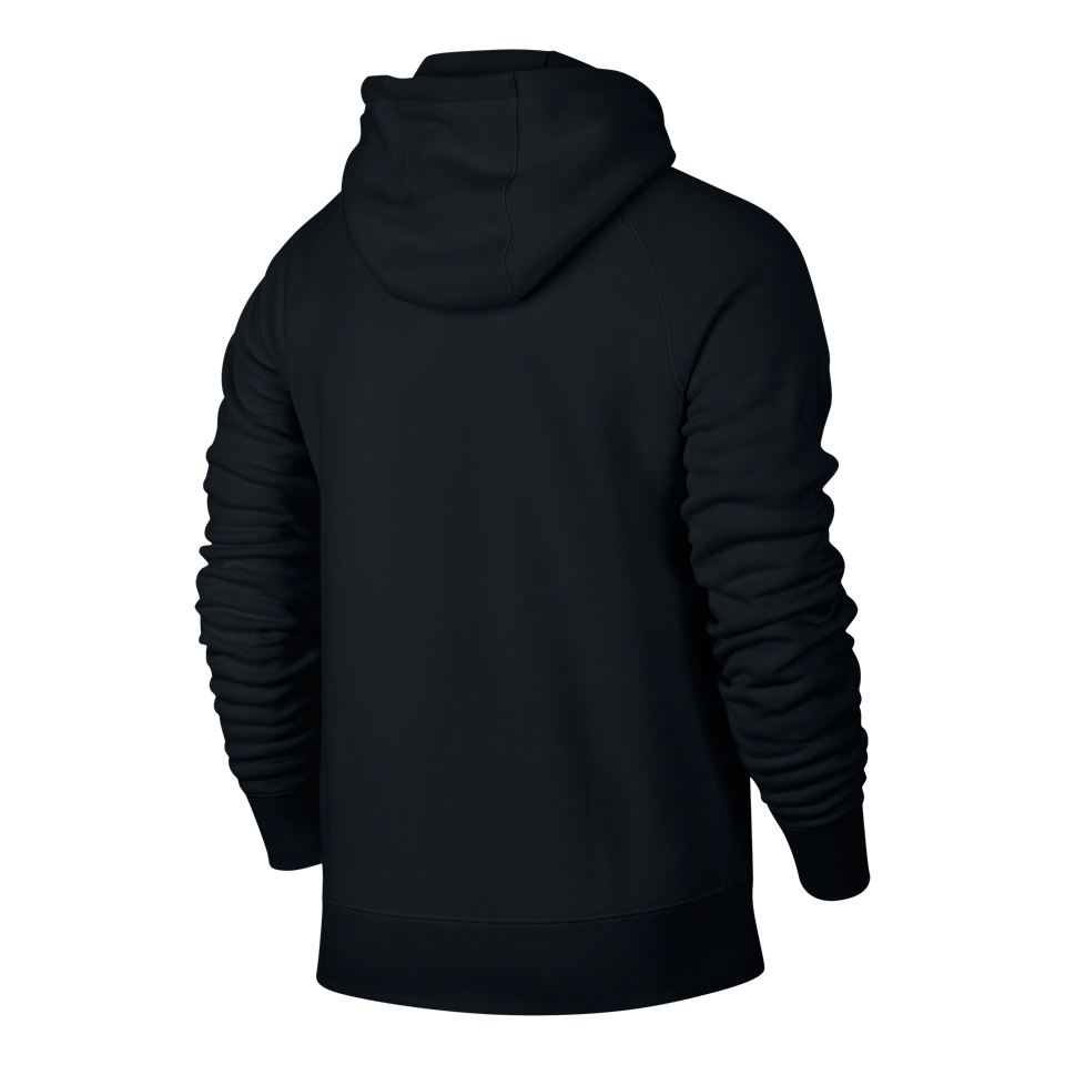 Nike Men's AW77 Fleece Pullover Black