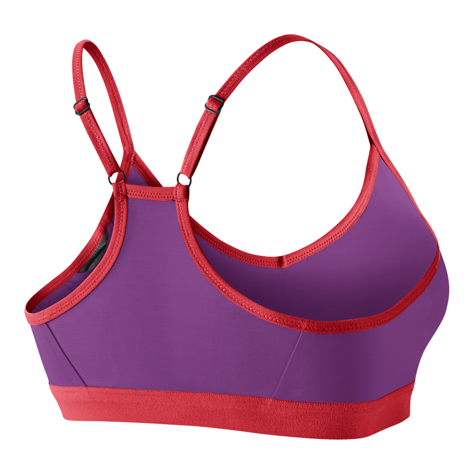 Nike Women's Pro Indy Sports Bra Cosmic Purple