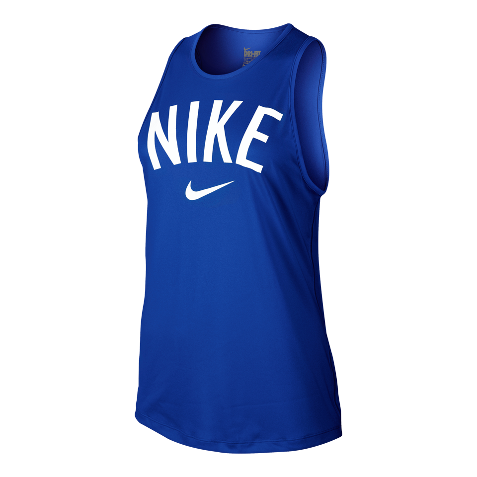 Nike Women's Tomboy Graphic Tank Game Royal