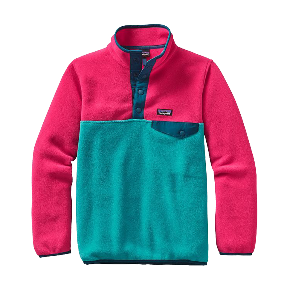 Patagonia Girls Synchilla Pullover Epic Blue
