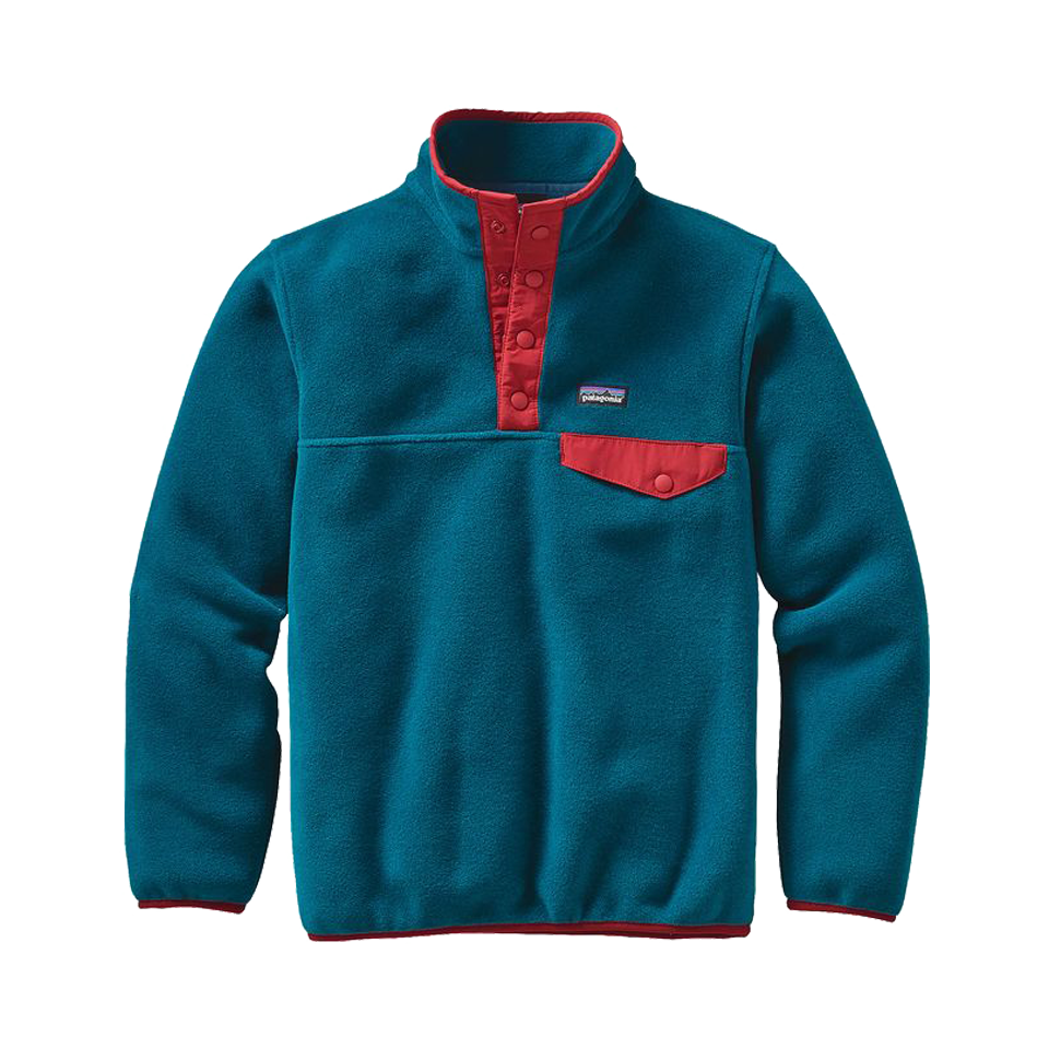 Patagonia Boy's Synchilla Pullover Deep Sea Blue