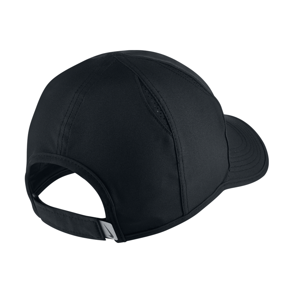 Nike Aerobill Featherlight Tennis Cap Black - Play Stores Inc 6f5b3e70bb
