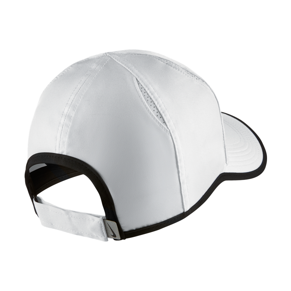 Nike Aerobill Featherlight Tennis Cap White