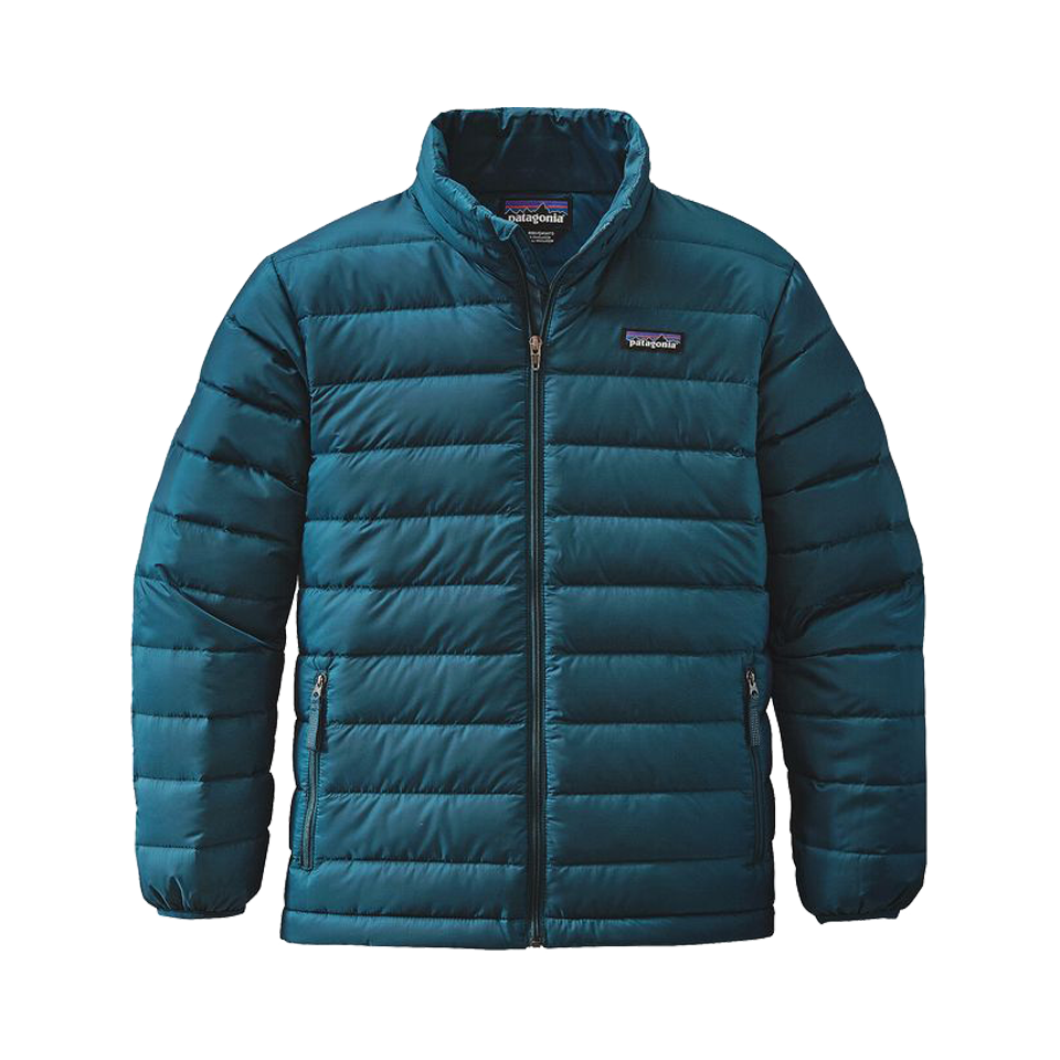 Patagonia Boy's Down Sweater Deep Sea Blue
