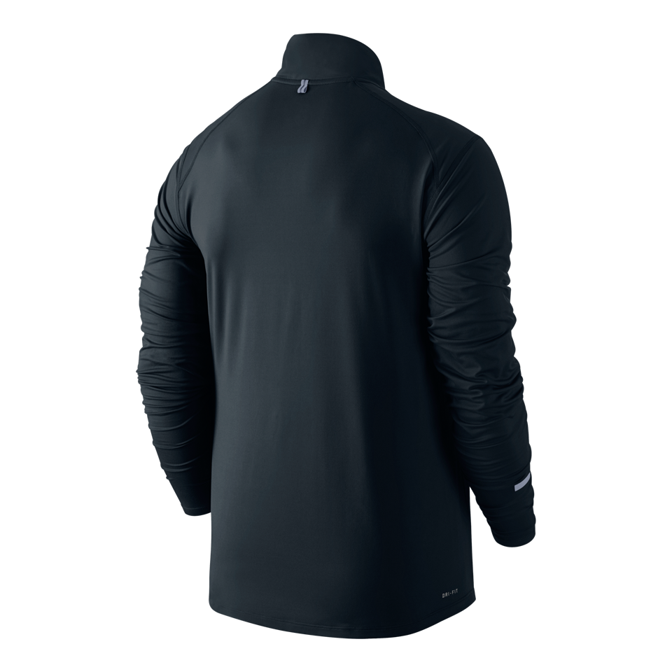 Nike Men's Dri-FIT Element Half Zip Black