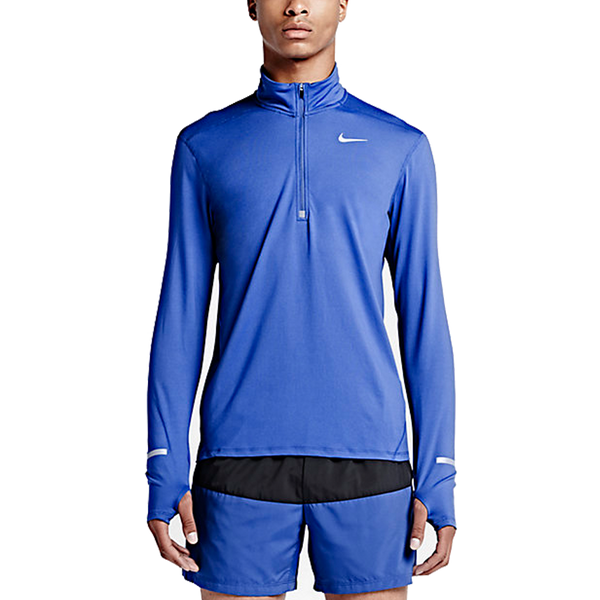 Nike Men's Dry-fit Element Half-Zip Blue