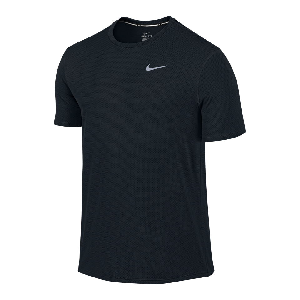 Nike Men's Dri-FIT Contour Short Sleeve Tee Black