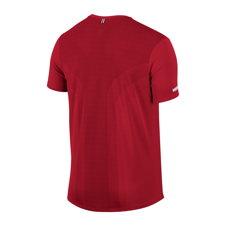 Nike Men's Contour Short Sleeve Top University Red