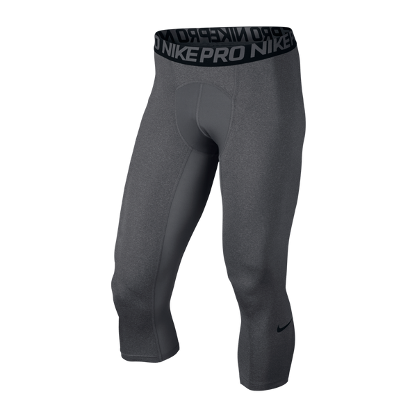 Nike Men's Pro Cool 3/4 Tight Carbon Heather