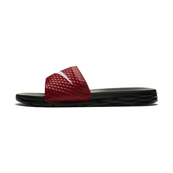 Nike Men's Benassi Solarsoft Slide Team Red/White