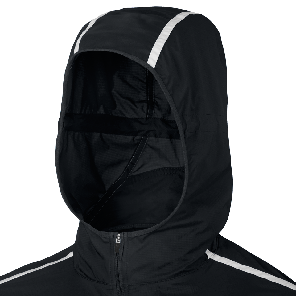 Nike Men's Impossibly Light Hooded Jacket Black