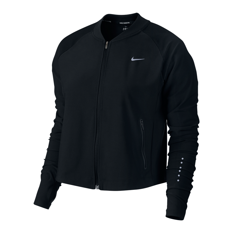 Nike Women's City Running Bomber Black