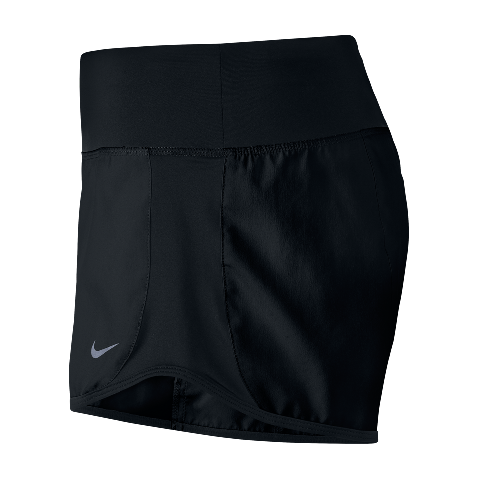 Nike Women's Dry Running Short Black