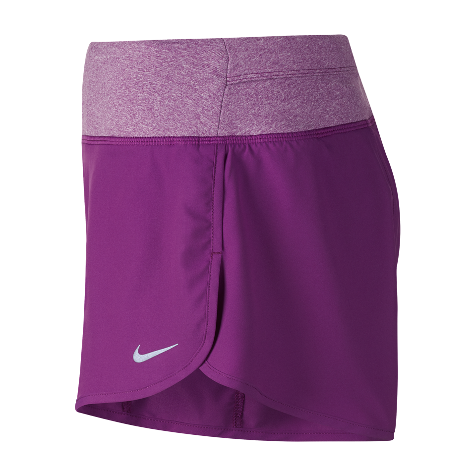 "Nike Women's Rival 3"" Running Short Cosmic Purple"