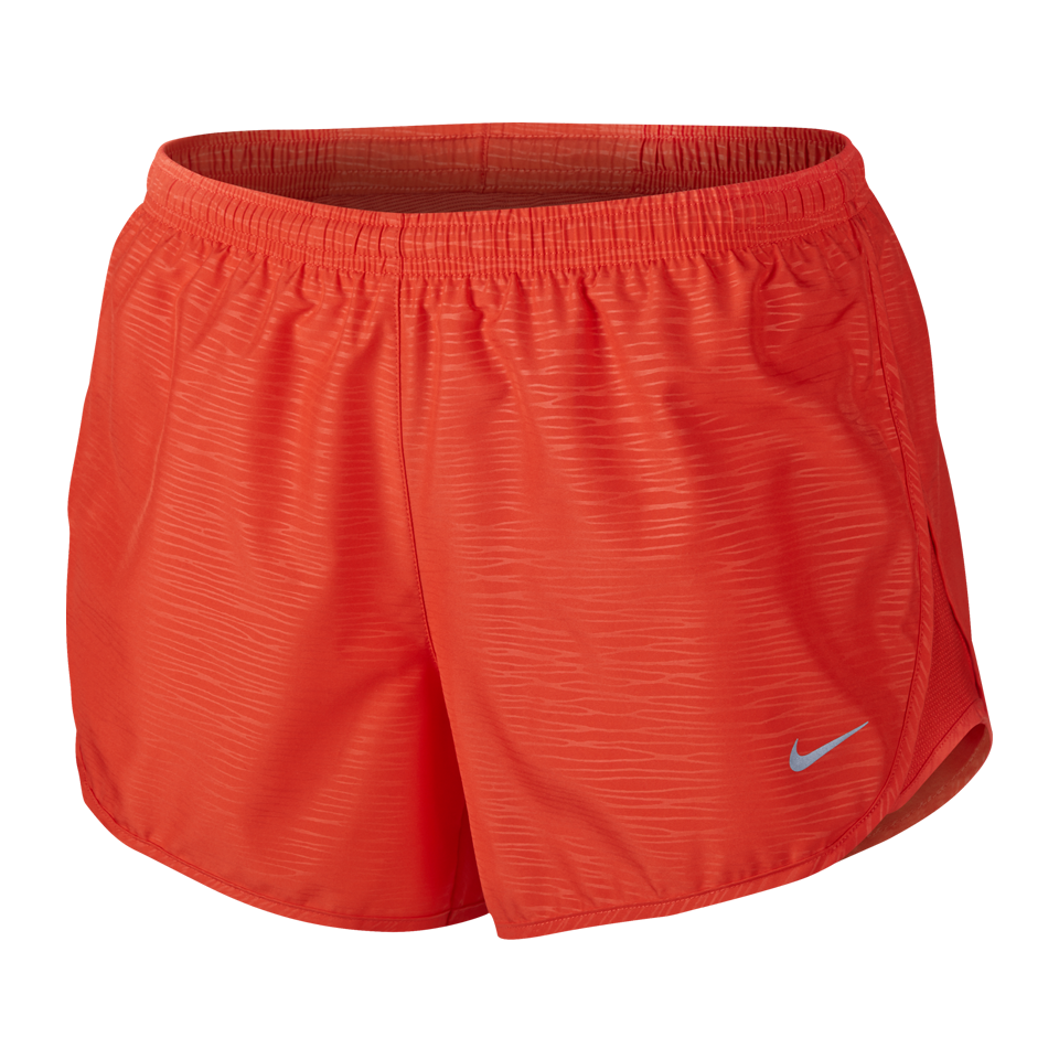 4083a7a4b3e3 Nike Women s Modern Embossed Tempo Running Short Light Crimson - Play  Stores Inc
