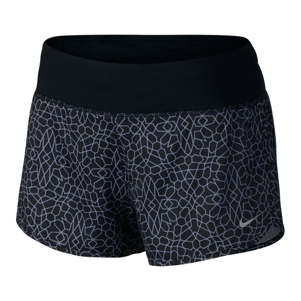 "Nike Women's Starglass Rival 3"" Running Short Black"