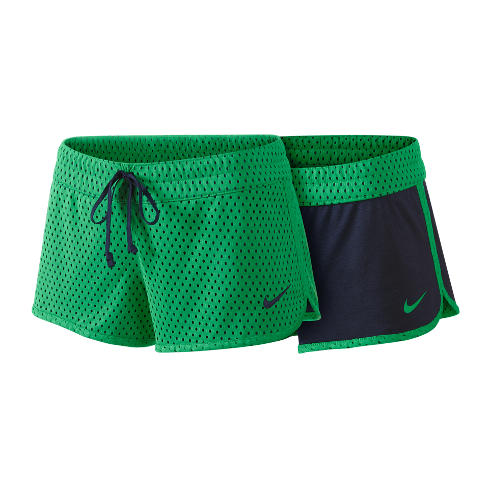 Nike Women's Reversible Training Short Spring Green