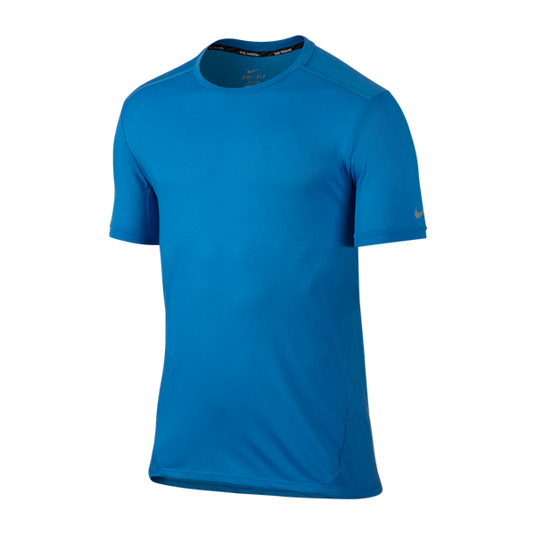 Nike Men's Dri-FIT Running Shirt Lt Photo Blue