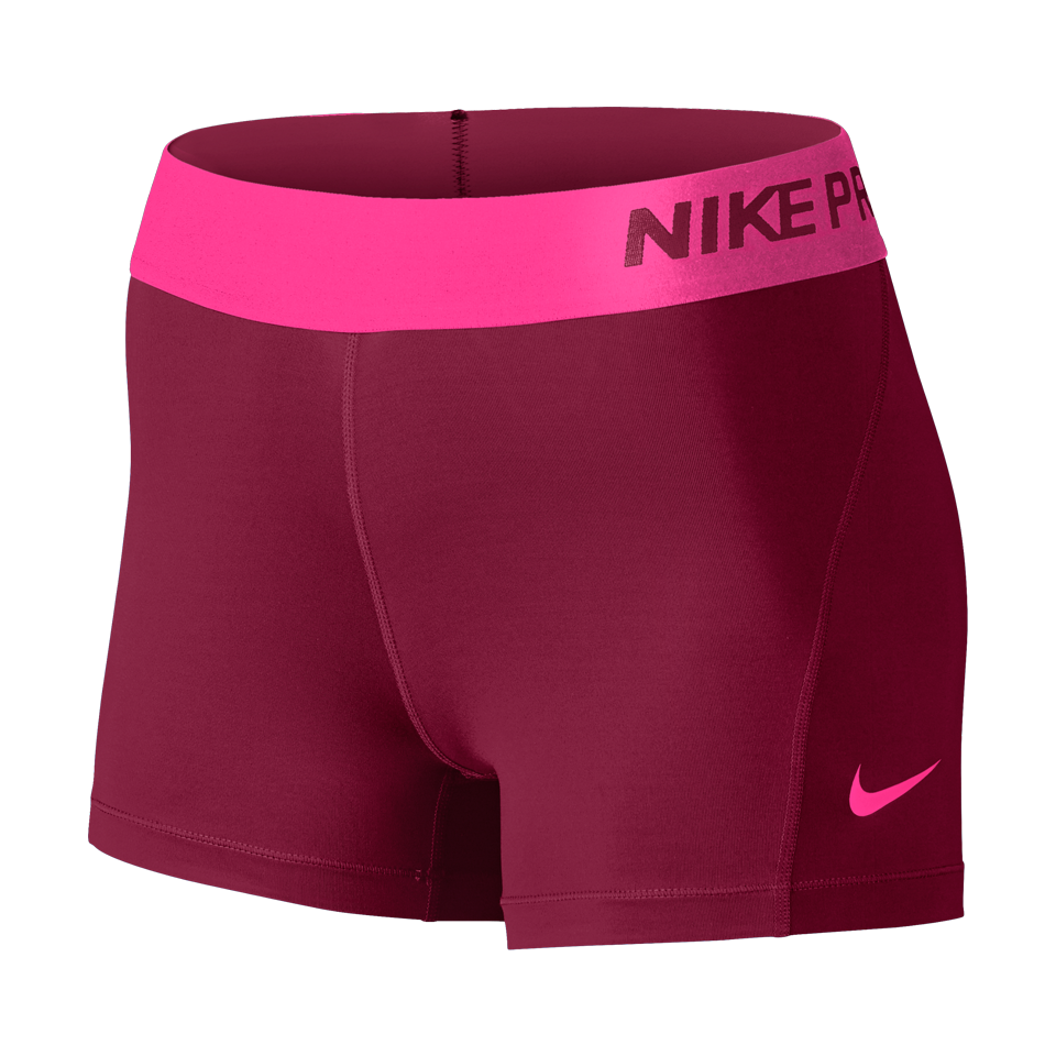 Nike Women's Pro Cool Compression Short Noble Red