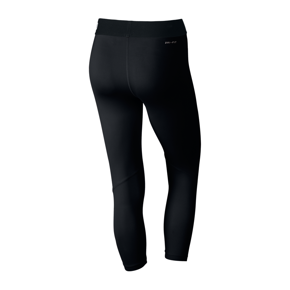 Nike Women's Pro Cool Capri Black