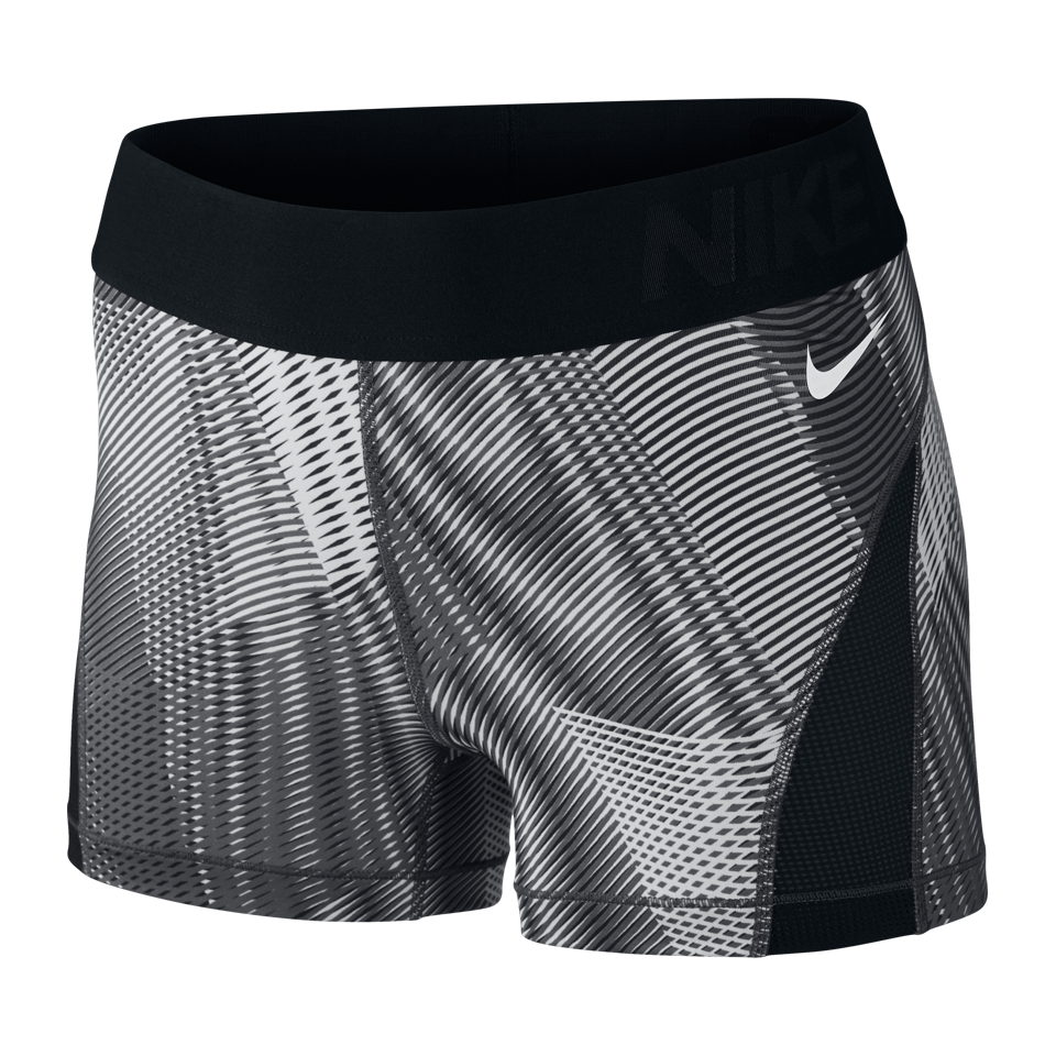 Nike Women's Pro Hypercool Frequency Shorts Black