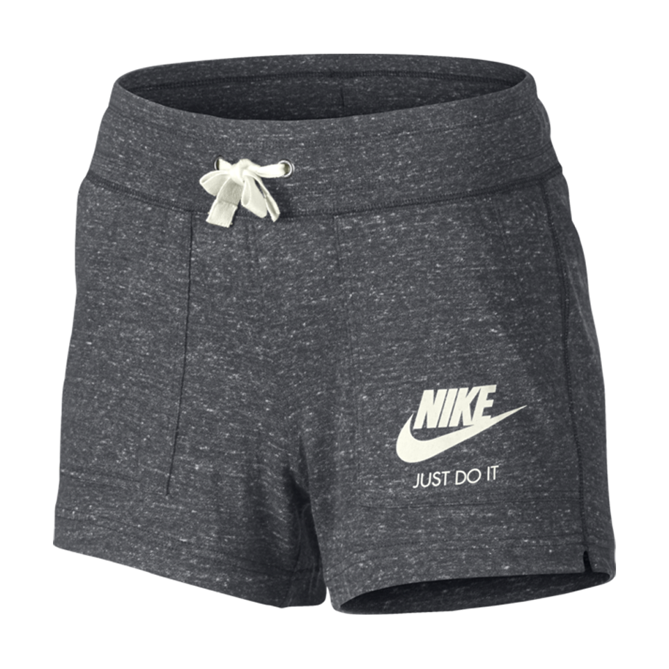 Nike Women's Sportswear Gym Vintage Short Carbon Heather