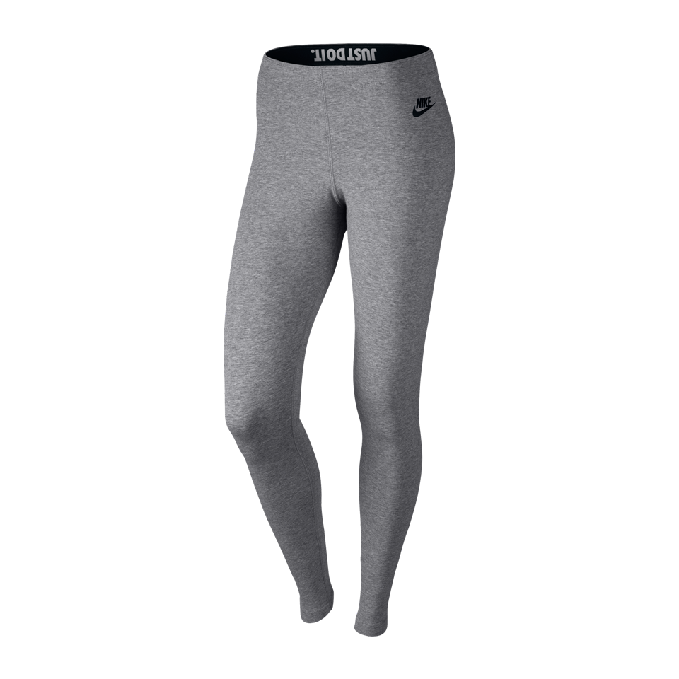 Nike Women's Leg-A-See Tight Carbon Heather