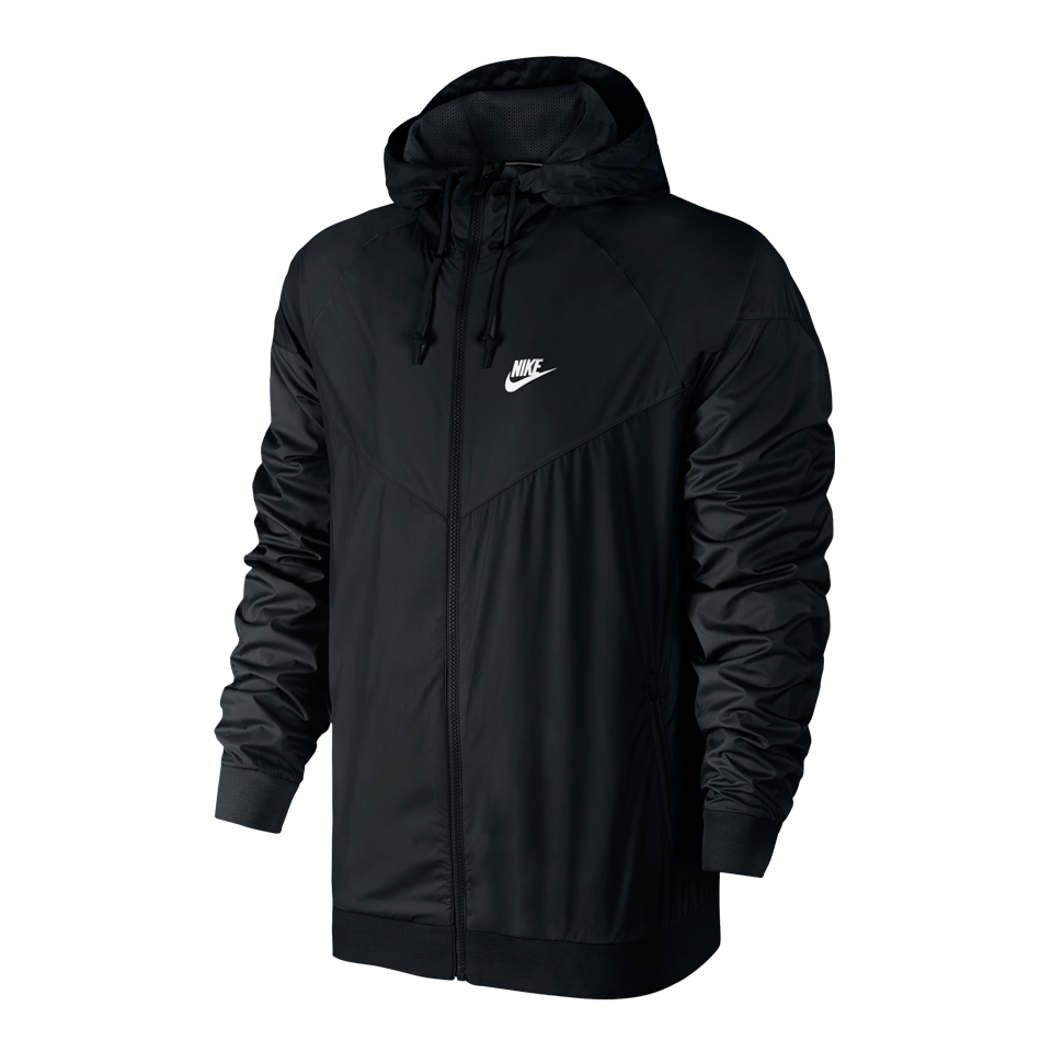 Nike Men's Windrunner Hooded Jacket Black