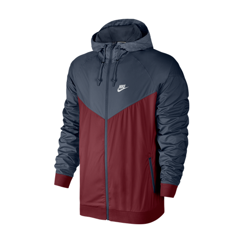 newest f07aa 1bef7 Nike Men s Windrunner Jacket Team Red