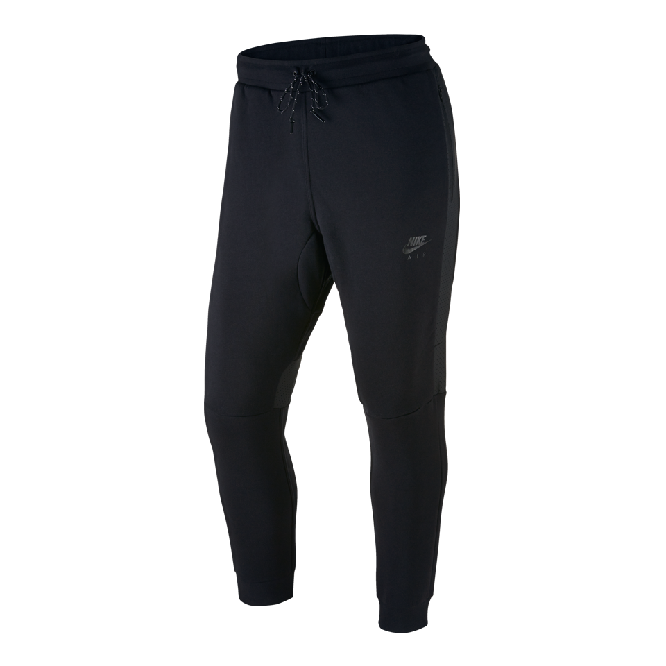 Nike Men's Air Hybrid Fleece Cuffed Pant Black
