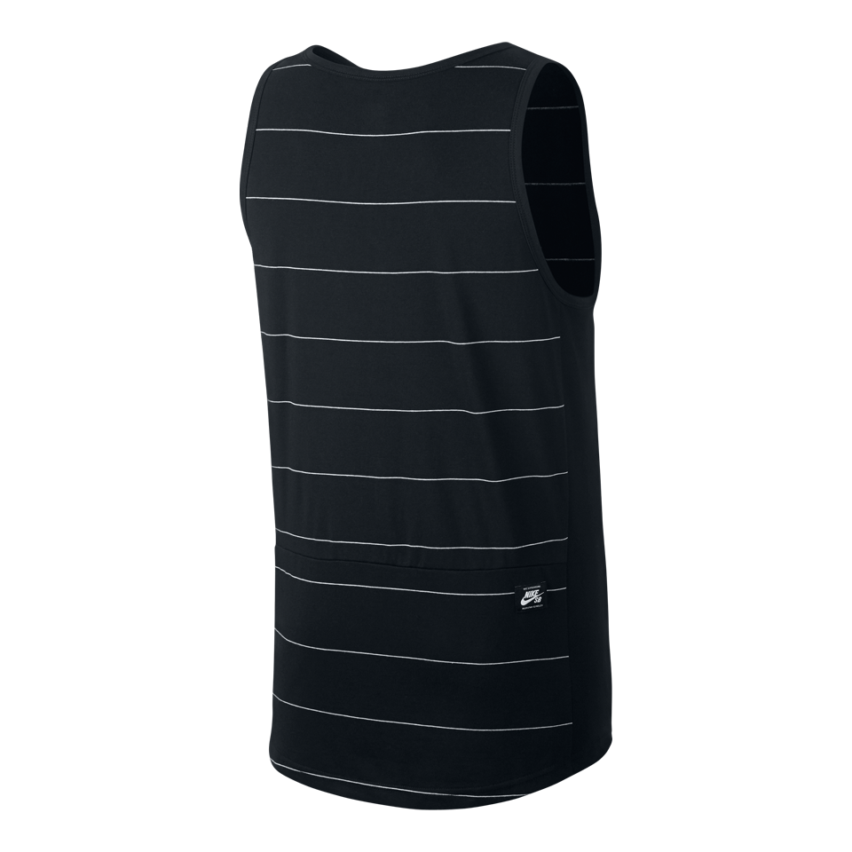 Nike Men's SB Dri-FIT Tank Black/White