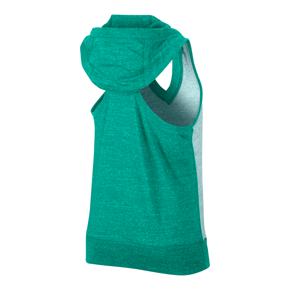 Nike Women's Gym Vintage Colour Block Vest Rio Teal