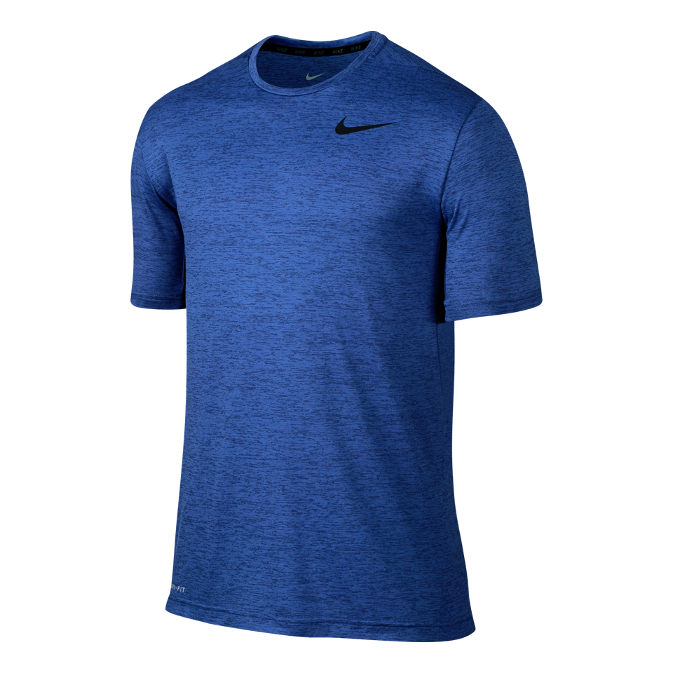 Nike Men's Dry Training Short Sleeve Deep Royal