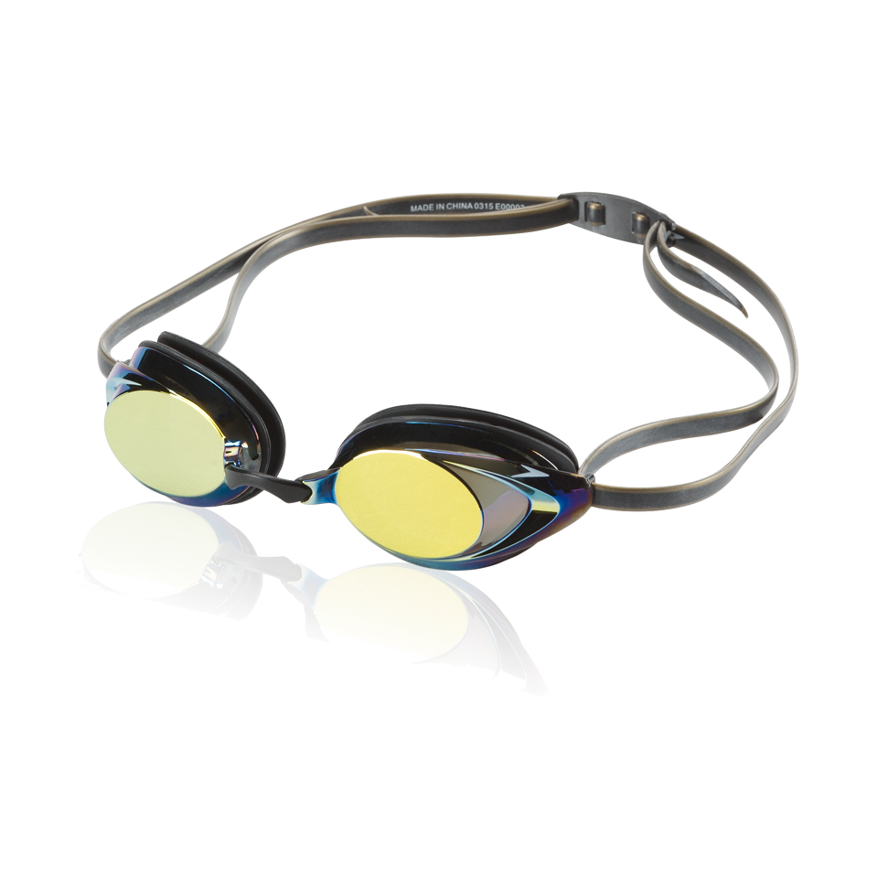 Speedo Vanquisher 2.0 Mirrored Goggle Deep Gold