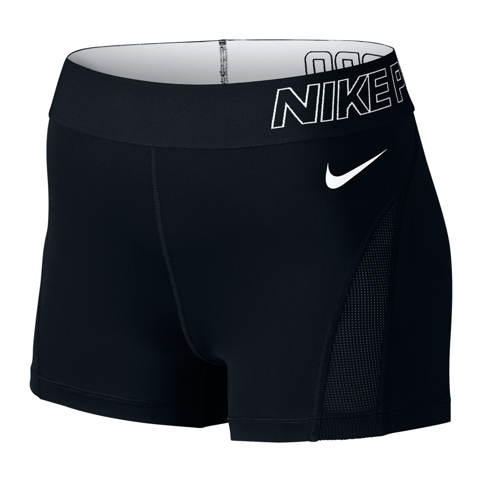 "Nike Women's Pro Hypercool 3"" Training Shorts Black"
