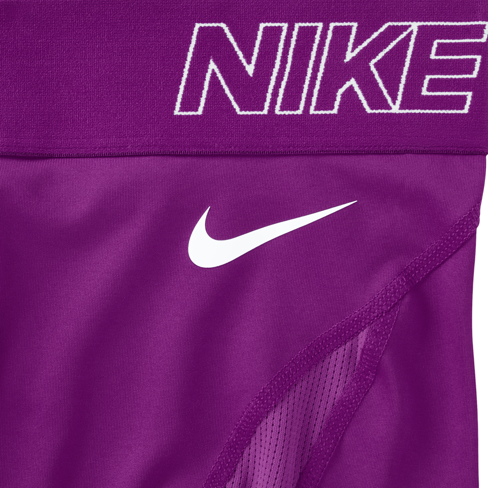 "Nike Women's Pro Hypercool 3"" Training Shorts Cosmic Purple"