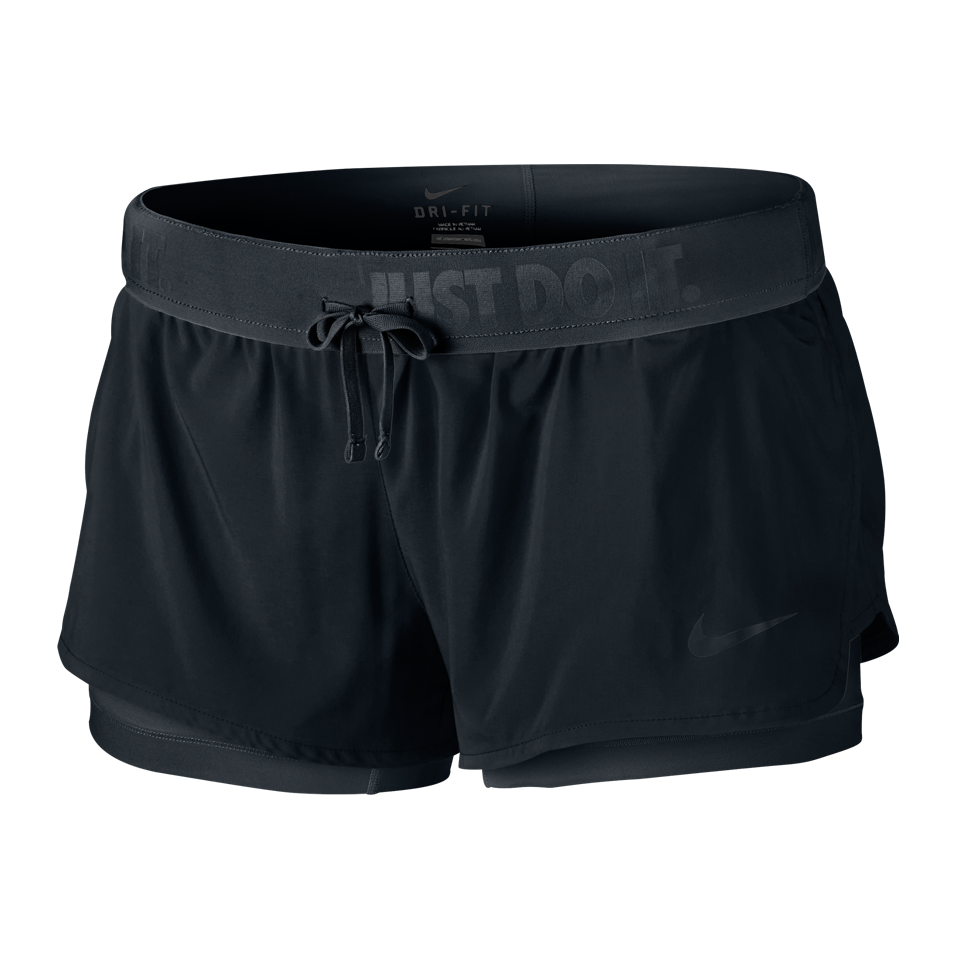 Nike Women's Full Flex 2-in-1 Training Shorts Black